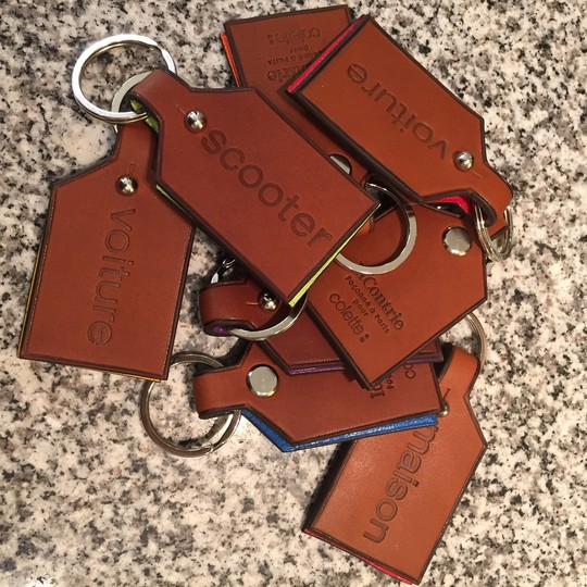 Key rings laContrie x colette