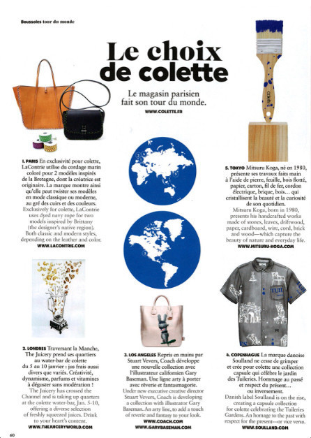 Air France Magazine, Janvier 2015