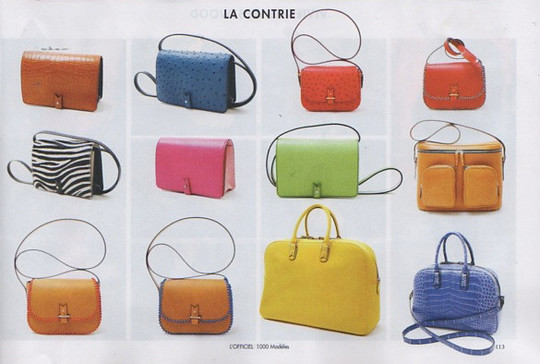 L'Officiel 1000 models Accessories SS 16